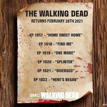 The Walking Dead Returns Feb 2021 AMC Releases Episodes Details