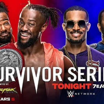 WWE Survivor Series Results &#8211 The New Day vs. The Street Profits