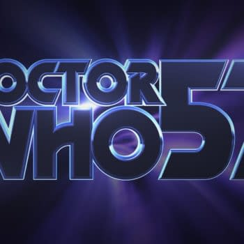 Doctor Who: LOCKDOWN 57th Anniversary Titles graphic, courtesy of Emily Cook, All Rights Reserved BBC
