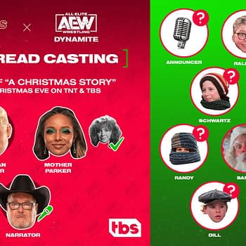AEW Stars to Perform A Christmas Story Table Read for TNT/TBS Tie-In