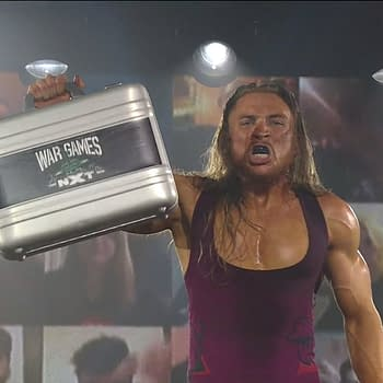 Pete Dunne wins the NXT Takeover WarGames advantage match.