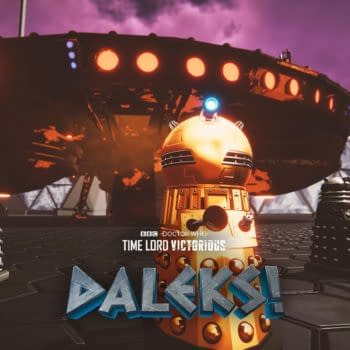 """Doctor Who """"Time Lord Victorious"""" spinoff series Daleks! key art for episode 3. (Image: BBC)"""