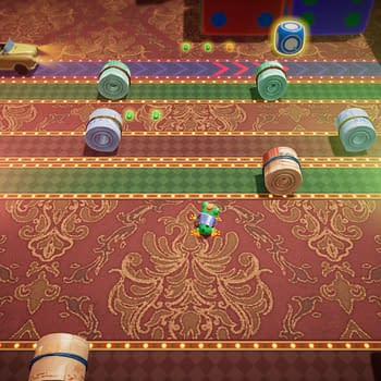 Konami Releases A New Update For Frogger In Toy Town