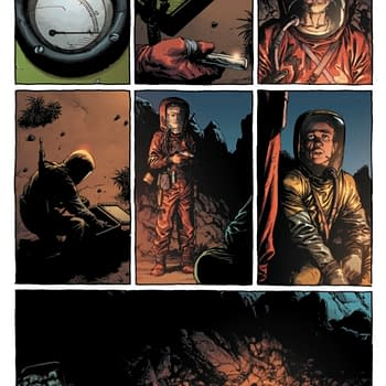 Geoff Johns and Gary Franks New Comic Geiger From Image in April