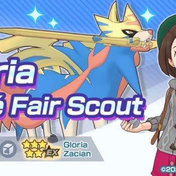 Pokémon Masters EX Adds Galar-Region Pair of Gloria & Zacian