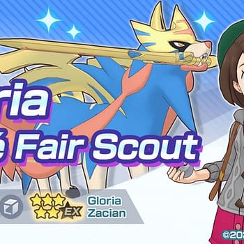 Pokémon Masters EX Adds Galar-Region Pair of Gloria &#038 Zacian