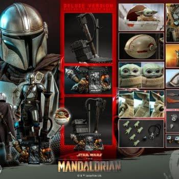 Hot Toys Announces 1/4th Scale The Mandalorian & The Child Figure Set