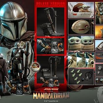 Hot Toys Announces 1/4th Scale The Mandalorian &#038 The Child Figure Set