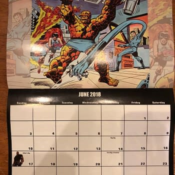 Marvel 2021 Preview Calendar Promotes Fantastic Four 60th Anniversary
