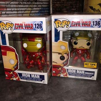 Funko MCU &#8211 Captain America: Civil War (2016) Team Iron Man