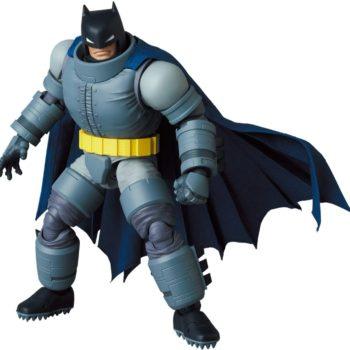 The Dark Knight Returns Armored Batman Joins MAFEX