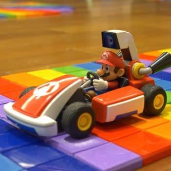 BCN3D Created A 3D Rainbow Road Track Mario Kart Live