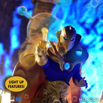DC Comics Dr. Fate Creates Some Magic With Mezco Toyz