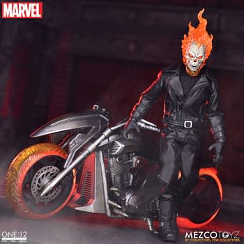 Ghost Rider and His Hell Cycle Bring the Heat to Mezco Toyz