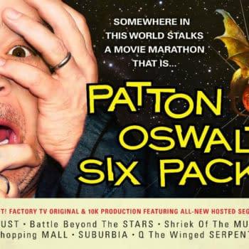 Patton Oswalt Hosts Movie Marathon On Shout TV Tomorrow