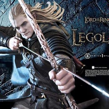 Legolas Takes His Shot With New LOTR Prime 1 Studio Statue