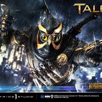 Batman Court of Owls Talon Statue Arrives At Prime 1 Studio
