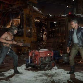 Mortal Kombat 11 Ultimate Shows Rambo Vs. Terminator Trailers