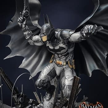 Batman Gets A New Arkham Knight Statue with Silver Fox
