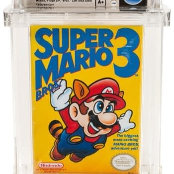 Rare Super Mario Bros. 3 Variant Sells At Auction For $156k