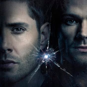 Supernatural -- Image Number: SN_S15_1080x1350_FINAL.jpg -- Pictured (L-R): Jensen Ackles as Dean and Jared Padalecki as Sam -- Photo: Brendan Meadows/The CW -- © 2020 The CW Network, LLC. All Rights Reserved.