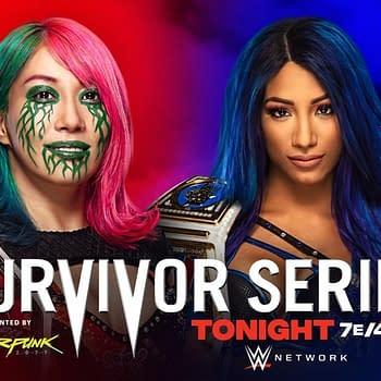 WWE Survivor Series Results &#8211 Asuka vs. Sasha Banks