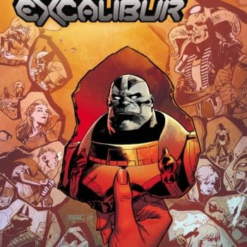 The cover to Excalibur #15