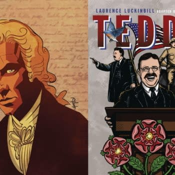 Hamilton and Teddy Roosevelt Both Get Graphic Novels