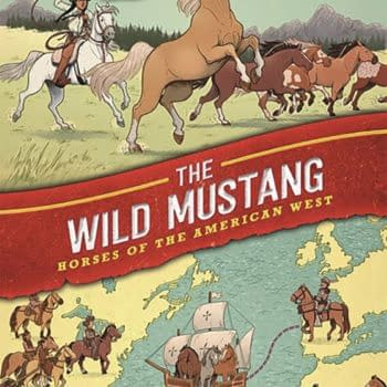 American Horses Get Their Own Graphic Novel - Wild Mustang