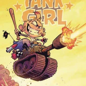 Skottie Young's Tank Girl in Albatross Funnybooks Feb 2021 Solicits
