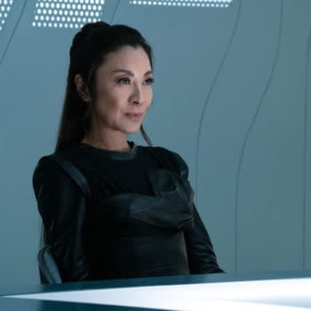 """""""Die Trying"""" — Ep#305 — Pictured: Michelle Yeoh as Georgiou of the CBS All Access series STAR TREK: DISCOVERY. Photo Cr: Michael Gibson/CBS ©2020 CBS Interactive, Inc. All Rights Reserved."""