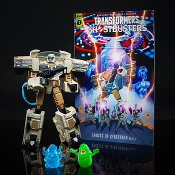 Transformers and Ghostbusters Mash-Up With Hasbro Once Again