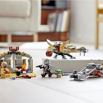 The Mandalorian Travels to Tatooine With LEGO Star Wars