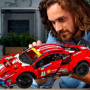 Build the Ferrari 488 GTE with New LEGO Technic Model