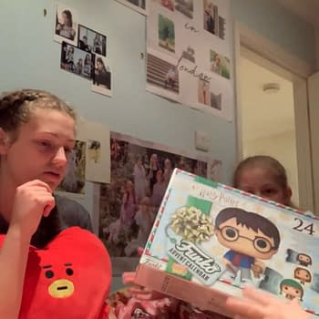 Eve And Alice Open The Loungefly Funko POP Christmas Box