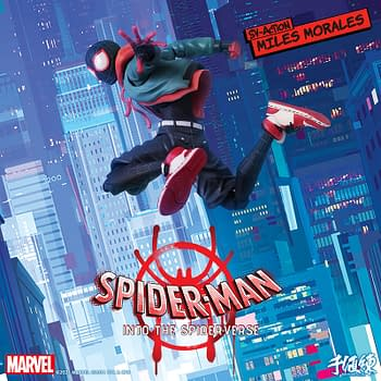 Miles Morales is Back with New Animated Figure from Sentinel