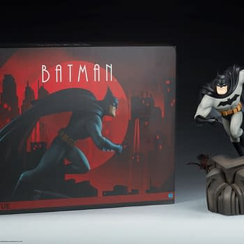 Batman Gets Animated with New Sideshow Collectibles Statue Series