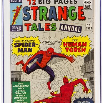 Strange Tales Annual #2 Signed By Stan Lee For Auction Today