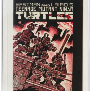 TMNT #1 First Print At Heritage Auctions Today, How High Will It Go?