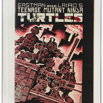 TMNT #1 First Print At Heritage Auctions Today How High Will It Go