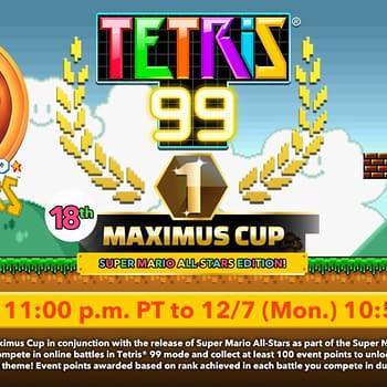 The Next Tetris 99 Maximus Cup Revolves Around Super Mario All-Stars