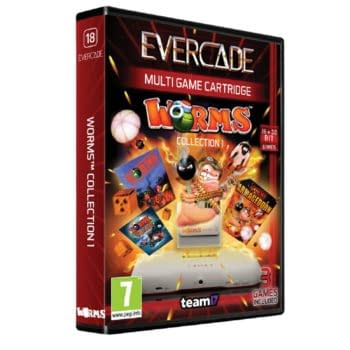 Evercade Announces Worms Collection 1 Coming In 2021