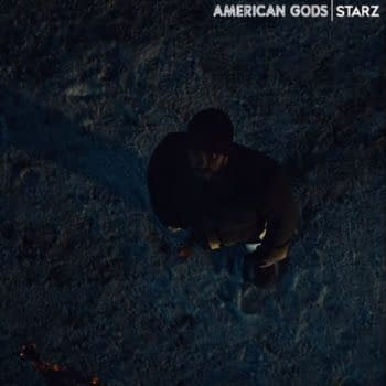 American Gods star Ricky Whittle (Image: STARZ)