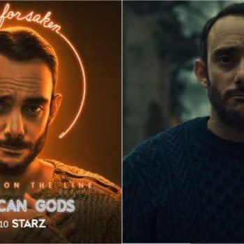 American Gods focuses on Omid Abtahi's Salim in Season 3 (Image: STARZ)