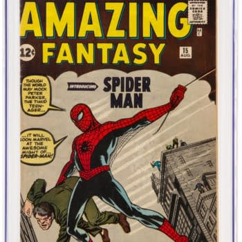 Auctioning Three Copies Of Amazing Fantasy #15 At Once