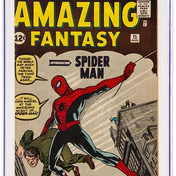 Auctioning Off Three Copies Of Amazing Fantasy #15 At Once