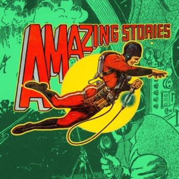 Amazing Stories Vol. 3 No. 5 cover and art by Frank R. Paul.