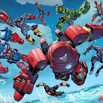 Ahead Of Transformers/X-Men Marvel Publishes Avengers: Mech Strike