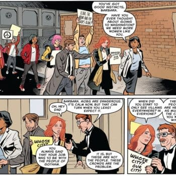 The Crowds Of Gotham City - Are There Good People On Both Sides?