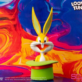 Bugs Bunny Gets a Colorful Pop-Art Statue From Soap Studio